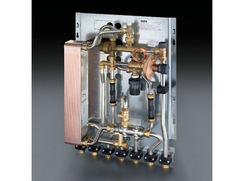 Mixing unit and manifold REGUDIS W-HTU by OVENTROP