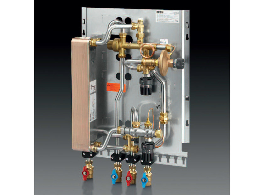 Mixing unit and manifold REGUDIS W-TU by OVENTROP