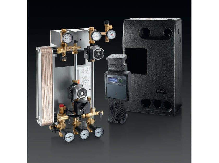 Heat exchanger REGUSOL X-DUO by OVENTROP