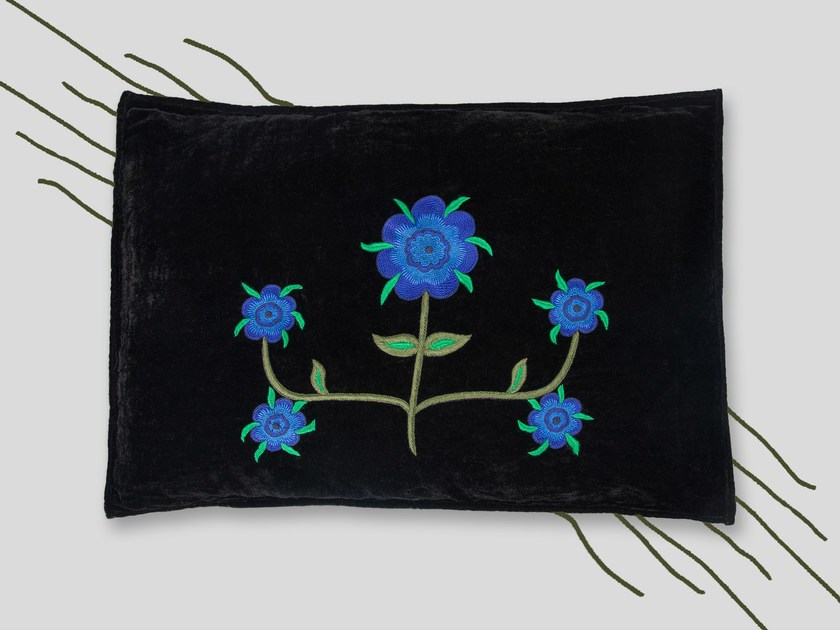 Hand embroidered cushion REINA by Jupe by Jackie