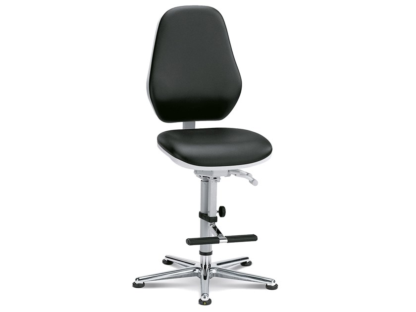 Cleanroom chair with 5-Spoke base REINRAUM 9143 by bimos