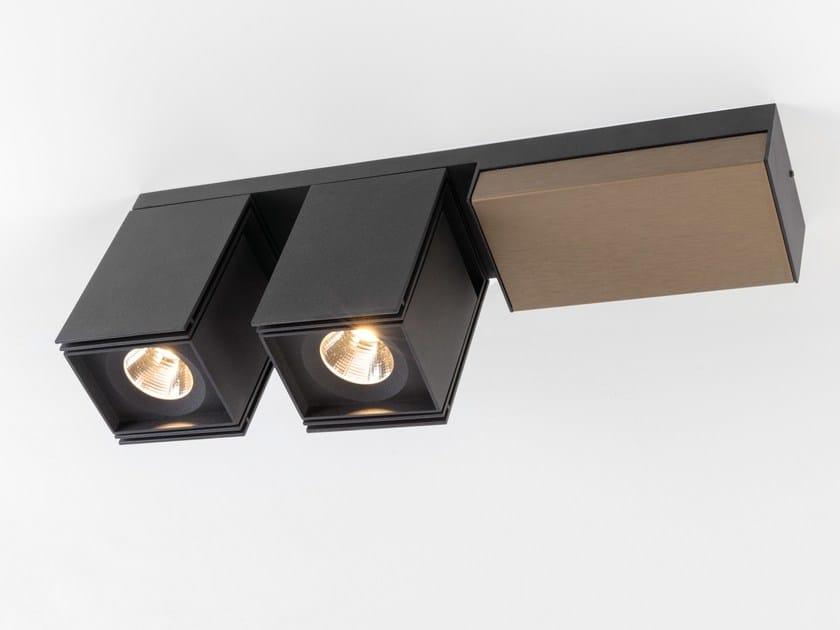 Modular Nomad Lamp : Rektor deckenspot by modular lighting instruments design