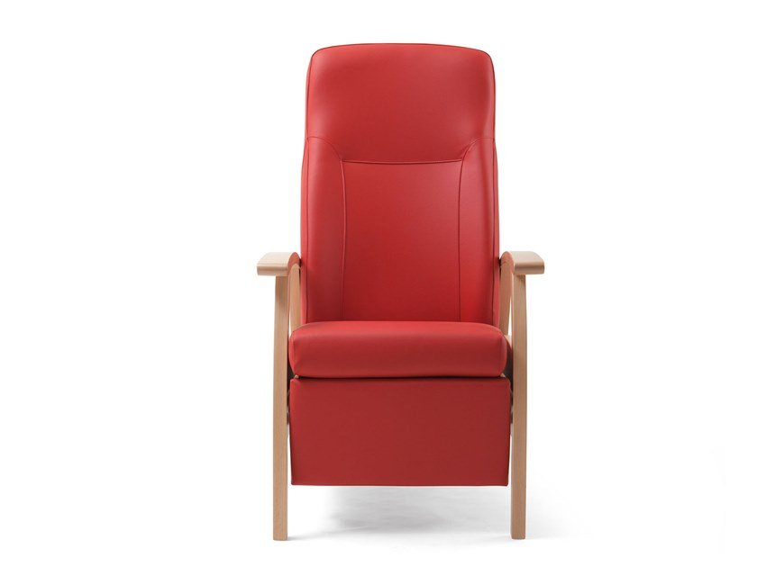 Recliner fabric armchair RELAX BED | HEALTH & CARE | Recliner armchair by PIAVAL