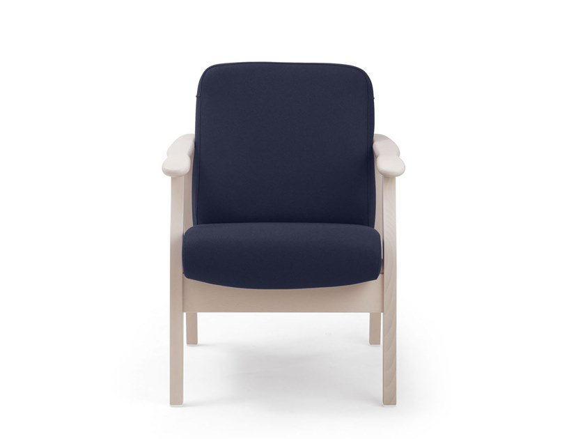Fabric armchair with armrests RELAX CLASSIC | HEALTH & CARE | Armchair by PIAVAL