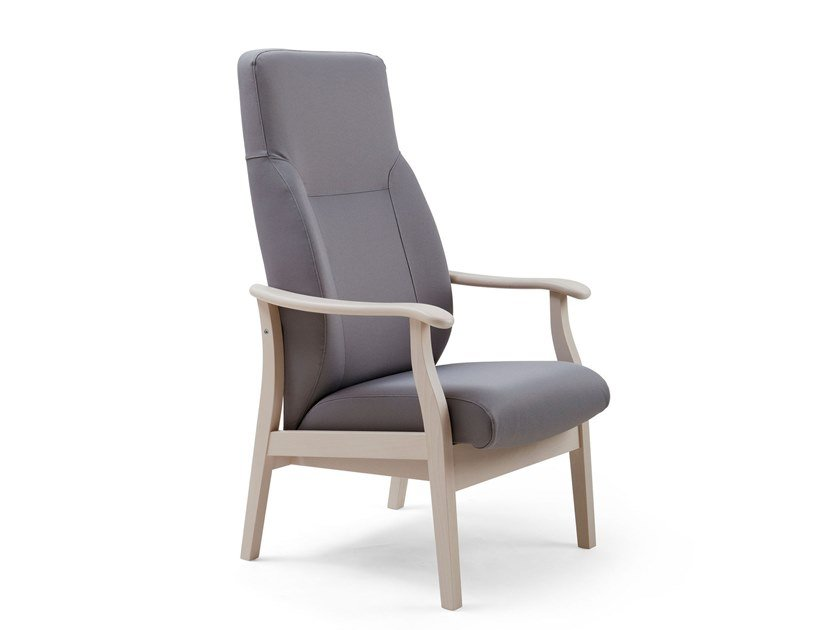 Fabric armchair with armrests RELAX CLASSIC | HEALTH & CARE | Armchair with armrests by PIAVAL