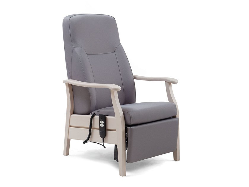 Fabric armchair with motorised functions RELAX CLASSIC | HEALTH & CARE | Armchair with motorised functions by PIAVAL