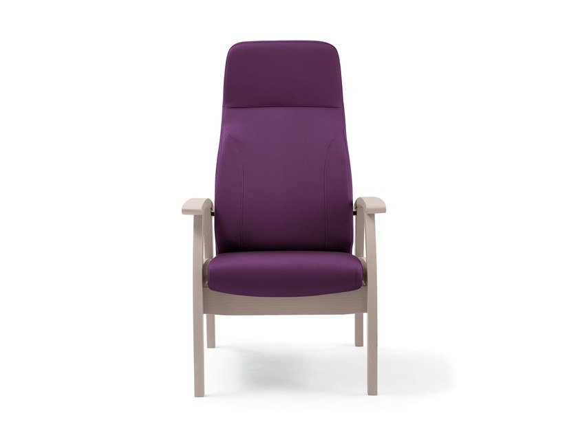 High-back fabric armchair RELAX COMPACT | HEALTH & CARE | High-back armchair by PIAVAL