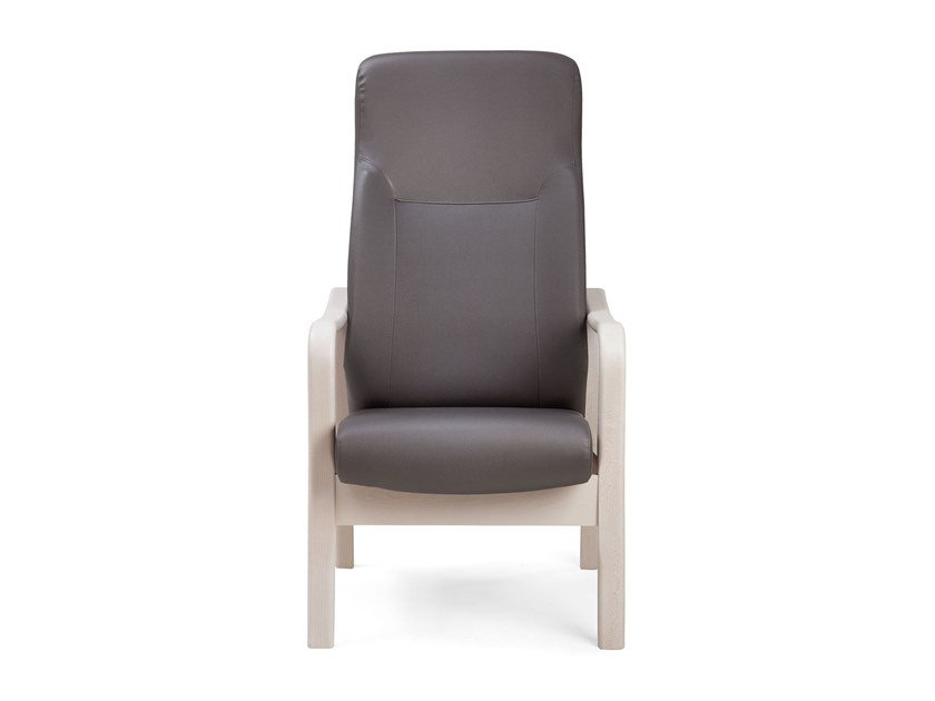 Ergonomic high-back armchair RELAX ELEGANT | HEALTH & CARE | Armchair with armrests by PIAVAL