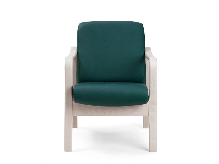 Fabric armchair with armrests RELAX ELEGANT | HEALTH & CARE | Armchair with armrests by PIAVAL
