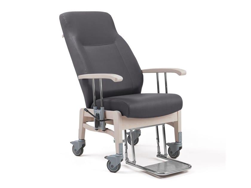 Sedie A Rotelle Schienale Alto : Sedie con braccioli e schienale alto eccezionale sedia impilabile