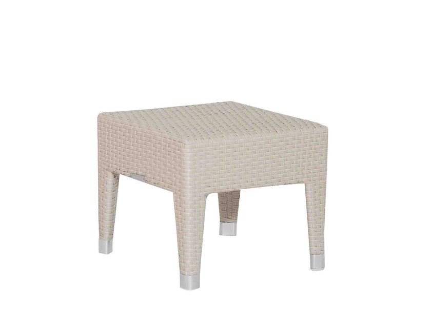 Low square garden side table RELAXIA | Low coffee table by Atmosphera