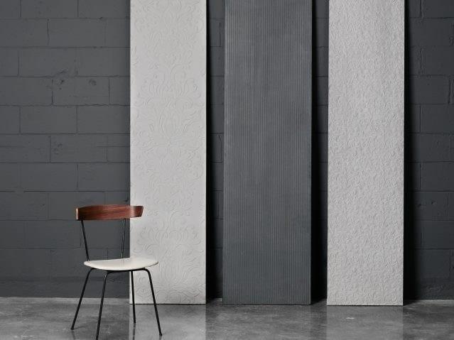Fiber-reinforced concrete wall tiles / ceiling tiles RELIEF PANELS by AtelierB