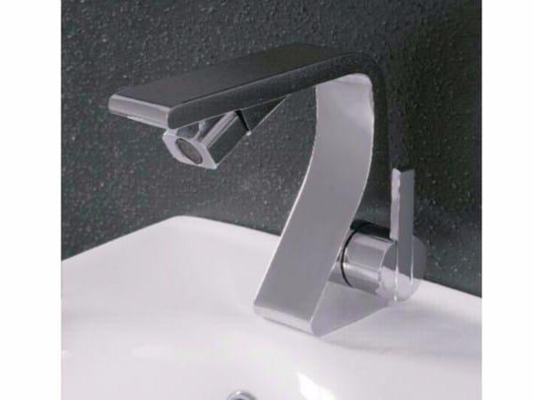 Countertop single handle bidet mixer REM | Bidet mixer by ZAZZERI