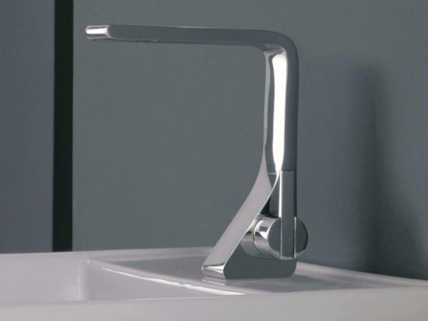 Single handle 1 hole washbasin mixer REM | Washbasin mixer by ZAZZERI