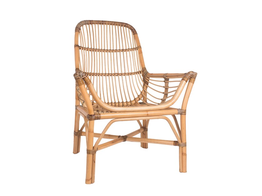 REMIX | Garden armchair with armrests