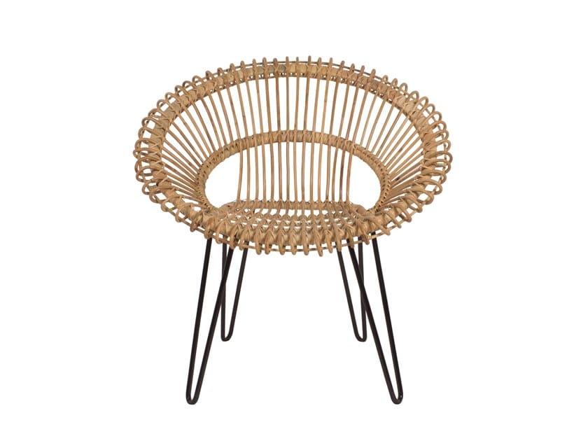 Garden rattan easy chair REMIX | Garden easy chair by Il Giardino di Legno