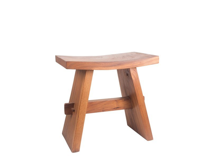 Low Wooden Garden Stool REMIX | Wooden Stool By Il Giardino Di Legno