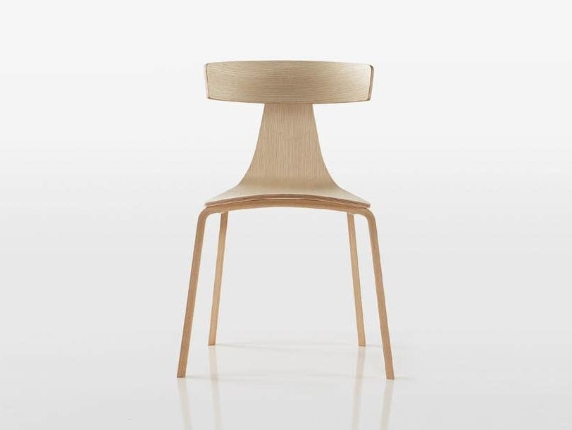 Plywood chair REMO WOOD by Plank