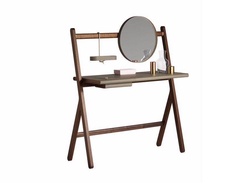 Wooden dressing table REN | Dressing table by Poltrona Frau