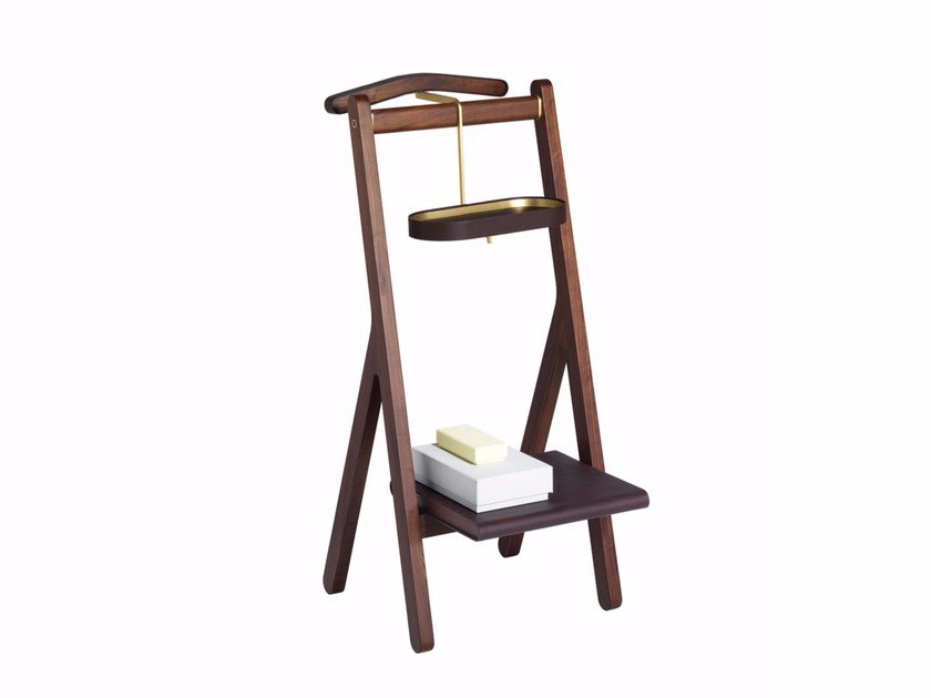 Beau Wooden Valet Stand REN | Valet Stand By Poltrona Frau