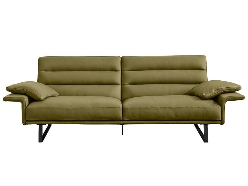 Sectional leather sofa RENEGADE by Gamma Arredamenti