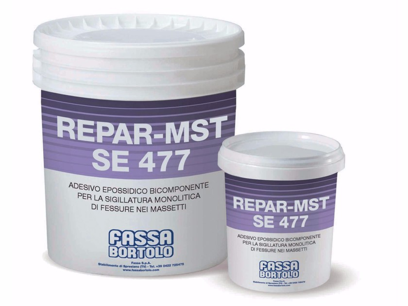 Cement seal REPAR-MST SE 477 by FASSA
