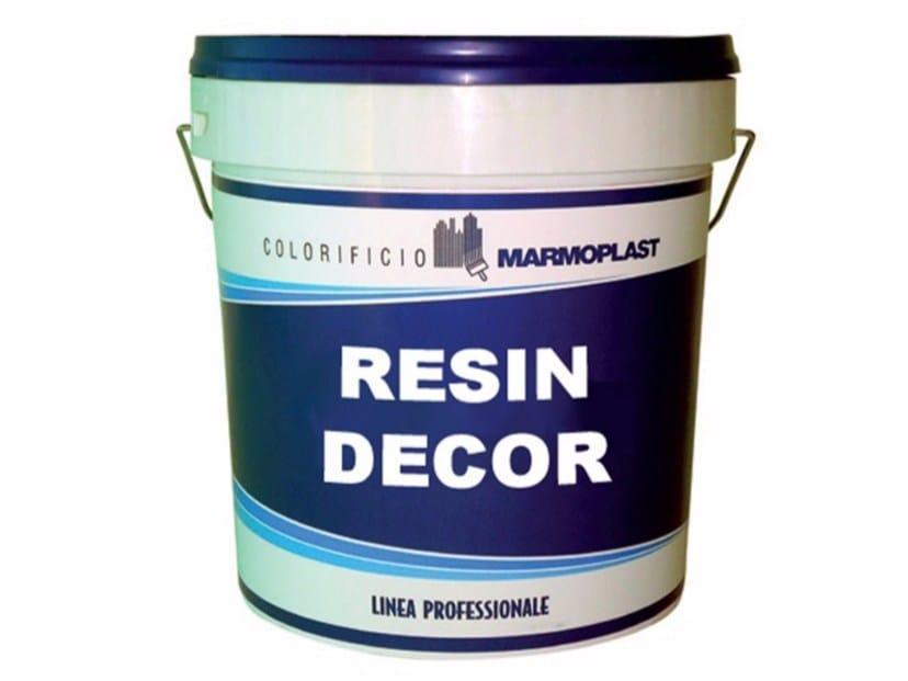 Gypsum and decorative plaster RESIN DECOR by Marmoplast