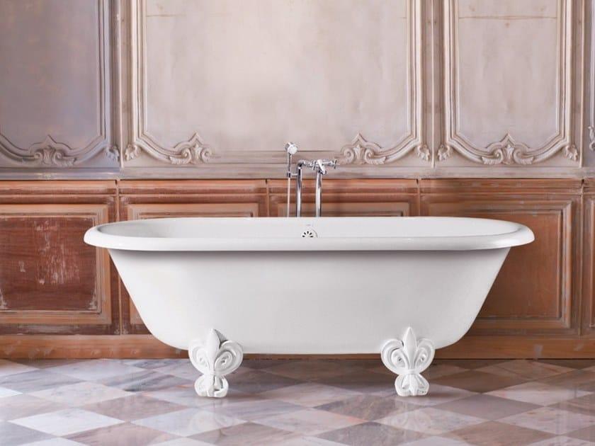 Vasca Da Bagno Retro : Vasca da bagno centro stanza ovale su piedi retro new age