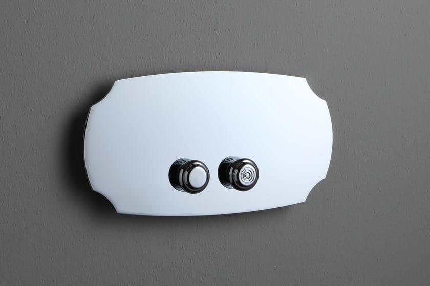 Classic style flush plate RETRO STYLE ACCESSORIES   Classic style flush plate by BLEU PROVENCE