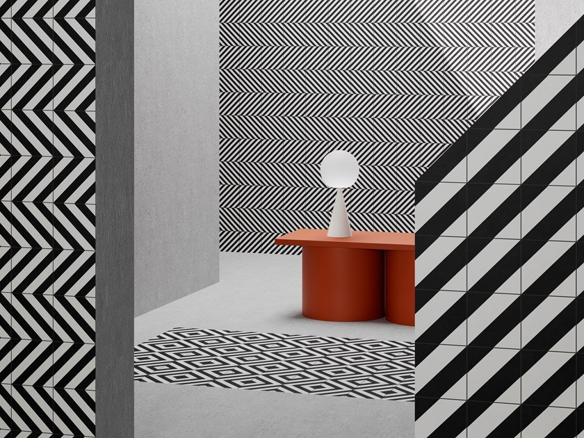 Porcelain Stoneware Wall Floor Tiles Retromix By Vitra