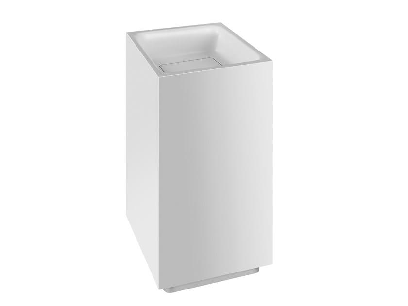 Freestanding square Cristalplant® washbasin RETTANGOLO | Freestanding washbasin by Gessi
