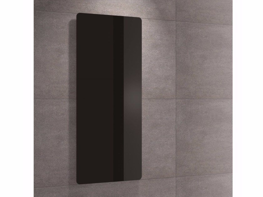 Vertical wall-mounted decorative radiator RETTANGOLO by Thermoeasy