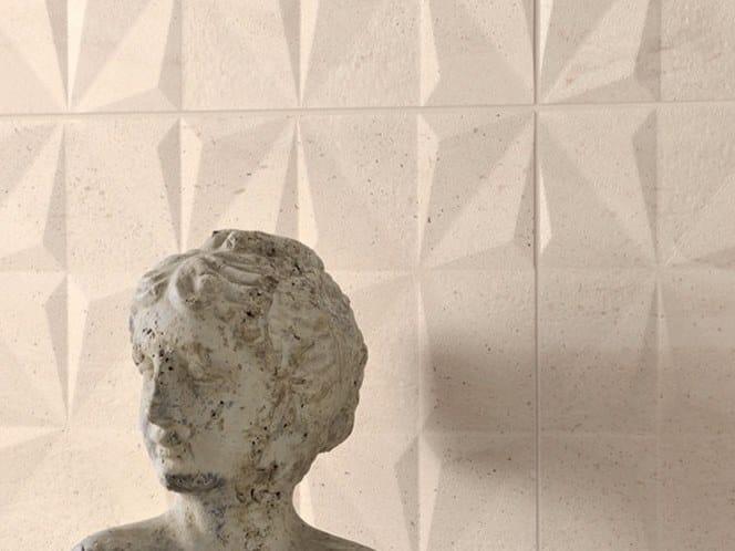 Porcelain stoneware 3D Wall Tile REVERSO | 3D Wall Tile by Ceramiche Coem