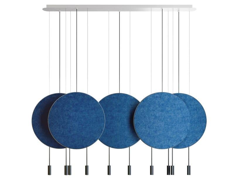 LED adjustable pendant lamp REVOLTA | Pendant lamp by Estiluz