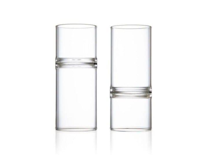 Set di bicchieri da liquore in vetro borosilicato REVOLUTION   Bicchiere da liquore by FFerrone
