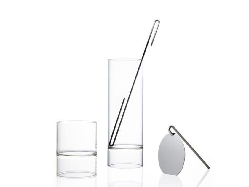 Set da cocktail in vetro REVOLUTION | Shaker by FFerrone