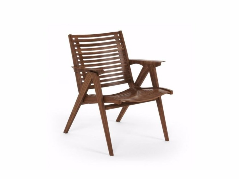 Wooden easy chair REX 120 By Rex Kralj design Niko Kralj