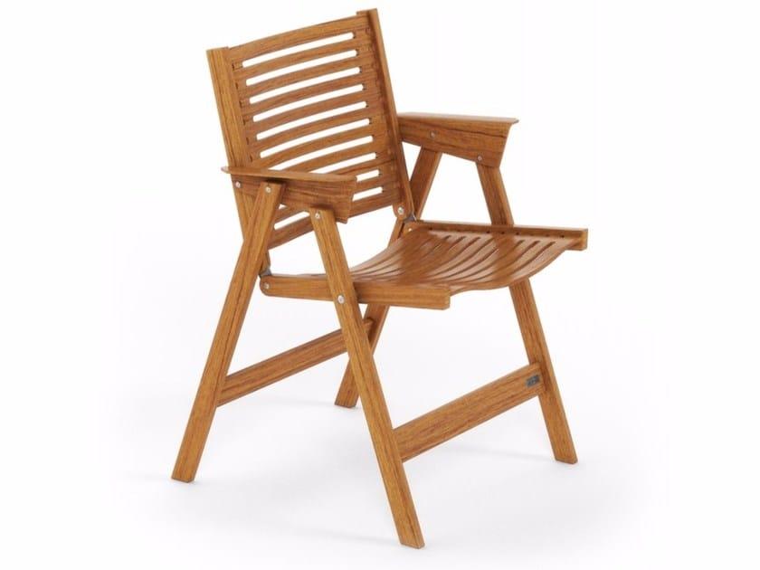 Folding wooden chair REX LOUNGE by Rex Kralj