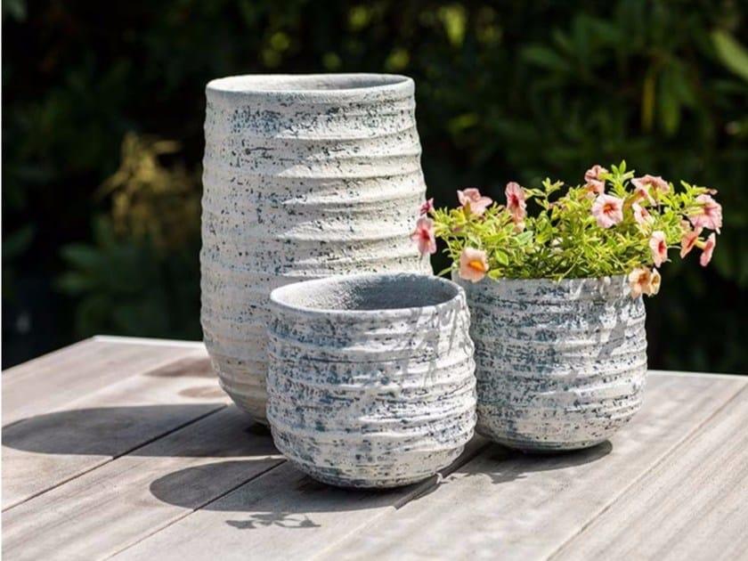 Terracotta vase RHODOS VASE by Domani