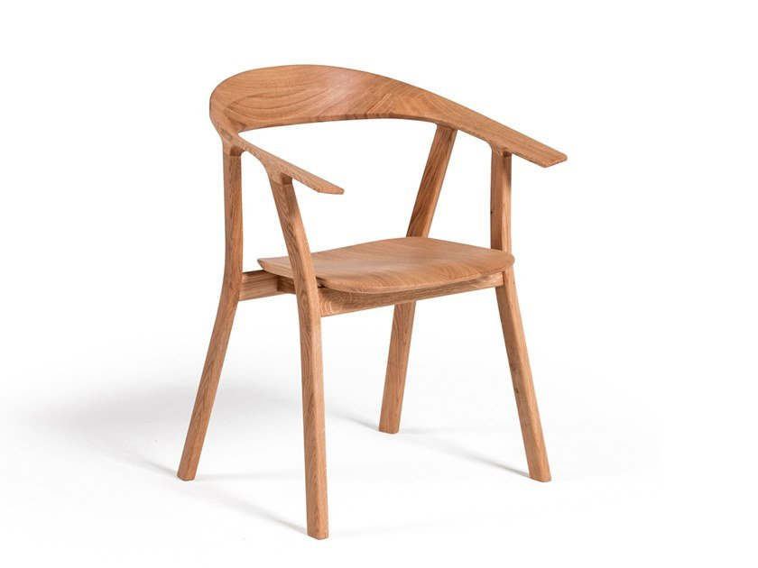 Chair with armrests RHOMB | Chair by prostoria