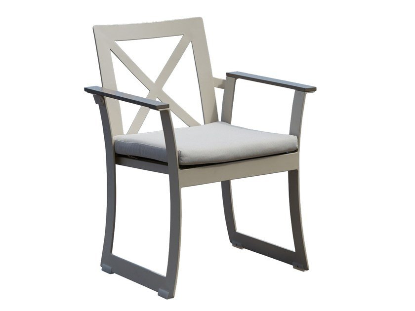 Dining armchair RHONE 23170 by SKYLINE design
