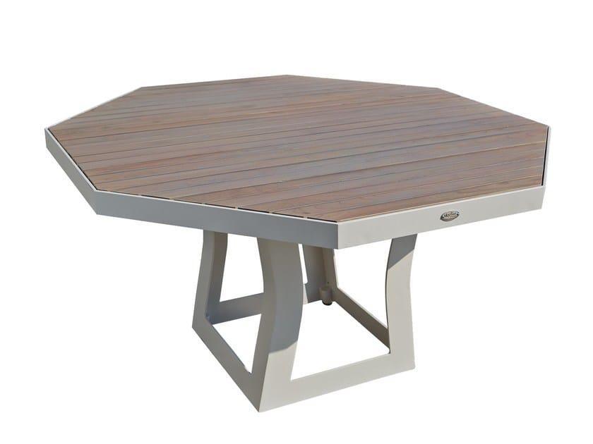Tavolo da giardino per contract RHONE 23172 by SKYLINE design
