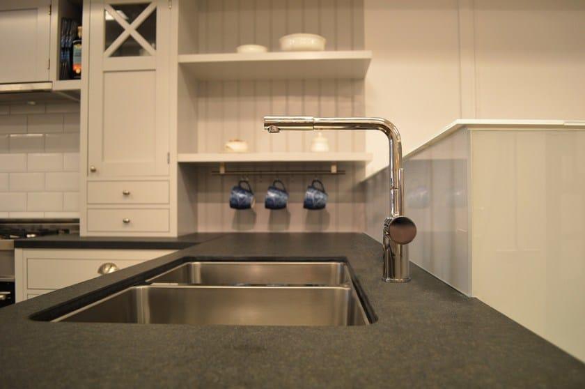 Countertop stainless steel kitchen mixer tap RHYTHM RH-410 by Nivito