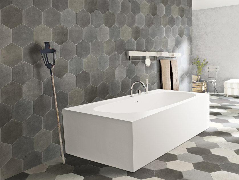 Porcelain stoneware wall tiles RIABITA IL COTTO   Wall tiles by CIR