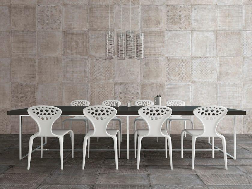 Glazed stoneware wall tiles RIABITA IL COTTO   Wall tiles by Serenissima