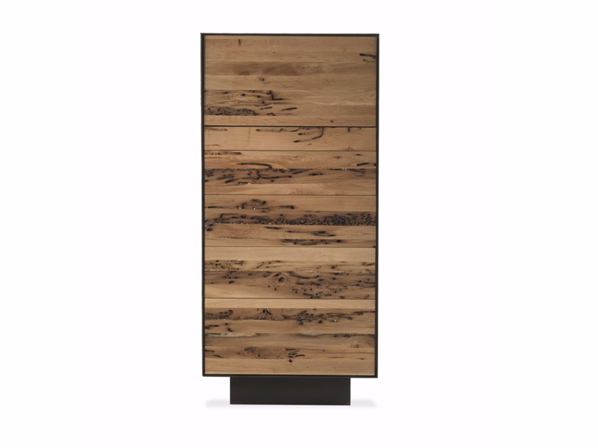 Wooden chest of drawers RIALTO 6 by Riva 1920