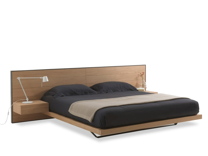 Multi-layer wood double bed RIALTO BED by Riva 1920