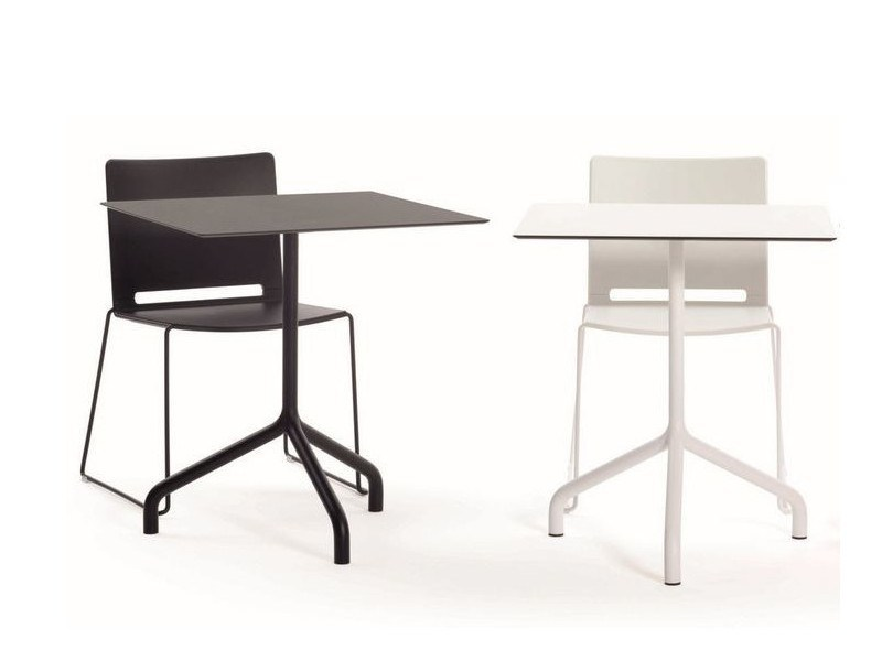 Drop-leaf square table RIBALTO   Square table by IBEBI