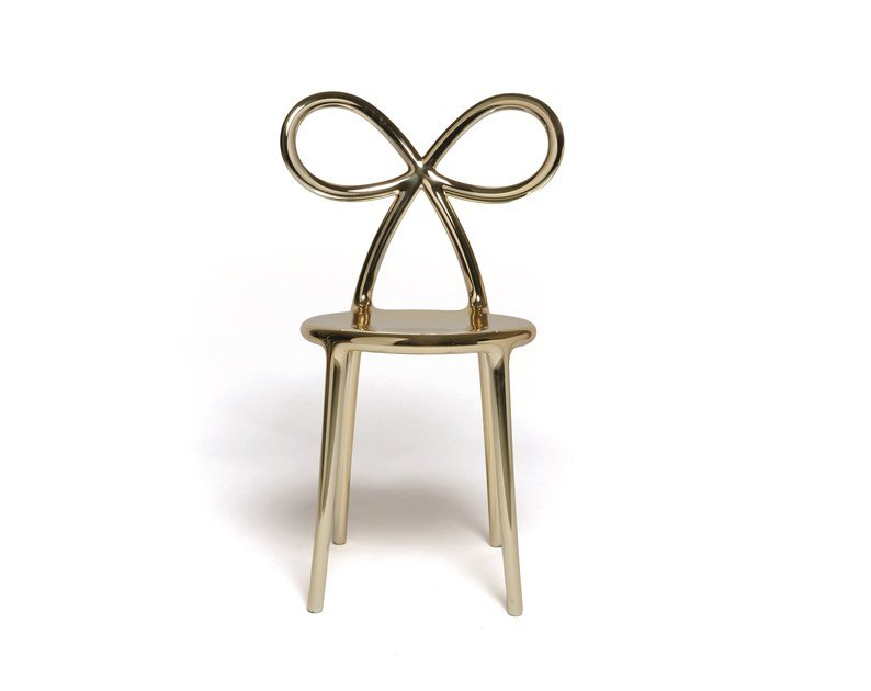 Metal Chair RIBBON METAL | Chair By Qeeboo