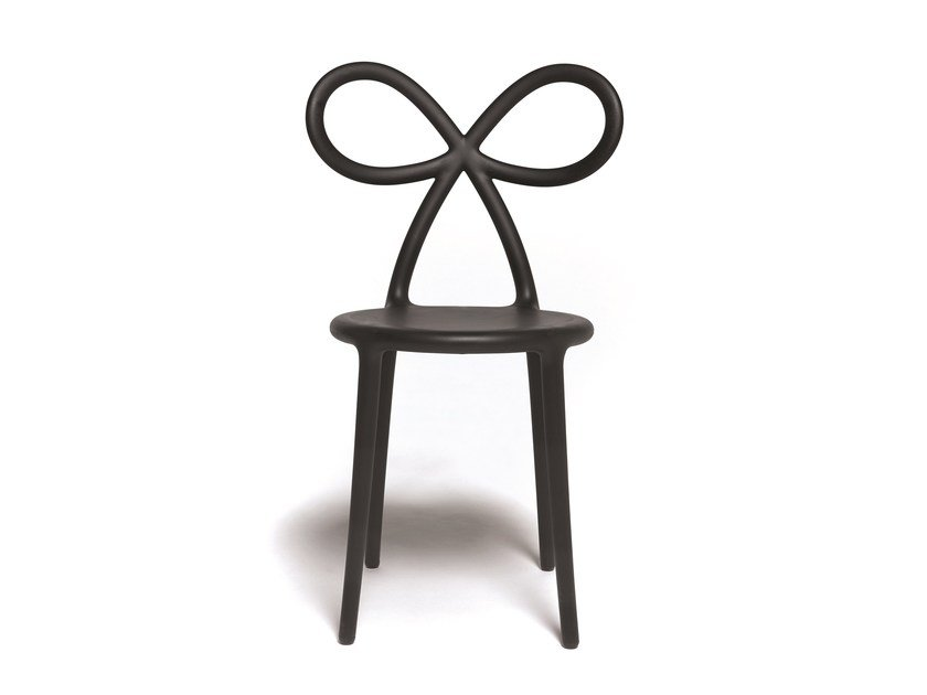 Polypropylene chair RIBBON | Chair by Qeeboo